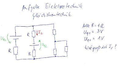 Aufgabe Elektrotechnik
