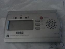 Stimmgerät für die Gitarre