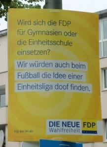 Einheitsschule = Einheitsliga?