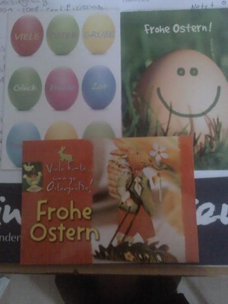 Osterpostkarten - Blogparade