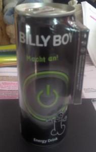 Billy Boy zum Trinken