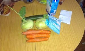 Verschiedene Gemüsearten