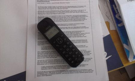 Foto von einem Telefon