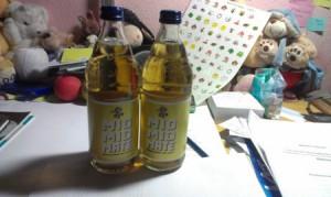 Foto von zwei Flaschen Mio Mio Mate