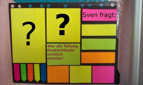 War die Teilung Deutschlands sinnlos